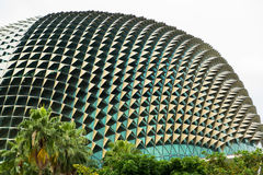 Esplanade concert hall in singapore. Esplanade concert hall in Marina Bay, Singapore Royalty Free Stock Photo
