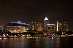 Esplanade Convention Centre at Marina Bay Stock Images