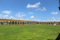 Izamal village in Yucatan. royalty free stock photos