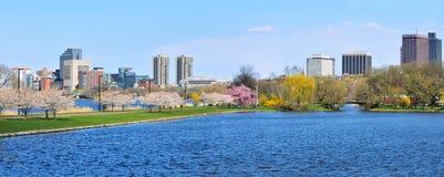 Esplanade de Boston Fotografia de Stock