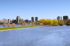 Esplanade de Boston photographie stock
