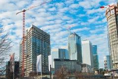 Esplanade de La Défense fotos de archivo libres de regalías