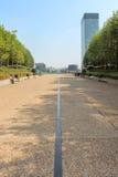 Esplanade DE La Defense in Parijs royalty-vrije stock foto