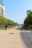 Esplanade De La Defense in Paris Royalty Free Stock Images