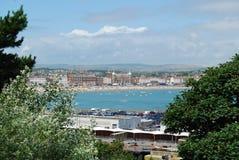 Esplanade de Weymouth photo stock