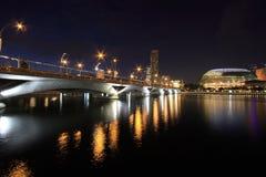 Esplanade - die Brücke der Leuchte Lizenzfreies Stockbild