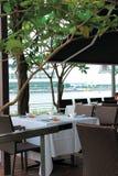 Esplanade do café Imagem de Stock