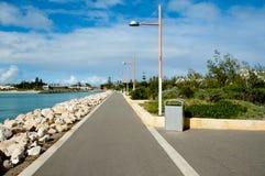 The Esplanade. Geraldton - Western Australia royalty free stock image