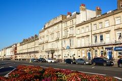 Esplanade guesthouses, Weymouth. Royalty Free Stock Photos