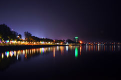 Esplanade, Kuantan, Malaisie Photo libre de droits