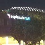 Esplanade mall stock photography