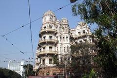 Esplanade mansions in Kolkata Royalty Free Stock Photos