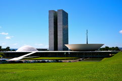 Esplanade of Ministries. Niemeyer esplanade of ministries in brasilia Royalty Free Stock Image