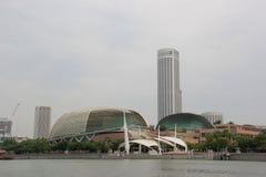 Esplanade oder Theater auf der Bucht Lizenzfreies Stockfoto