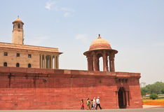 Esplanade Rajpath. New Delhi Royalty Free Stock Image
