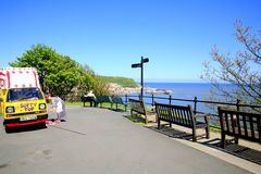 Esplanade, Scarborough, Yorkshire. Stock Images