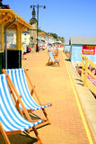 Esplanade, Shanklin, Isle of Wight. Royalty Free Stock Image