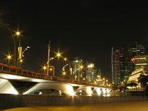 esplanade singapore моста Стоковые Фото
