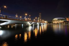 esplanade singapore Royaltyfri Bild