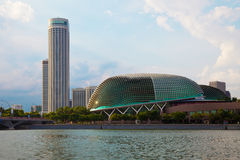 esplanade singapore Arkivbild