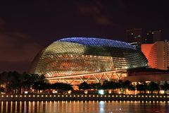 Esplanade Singapore Stock Images