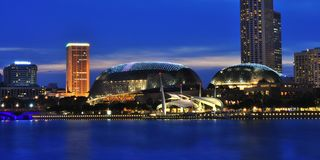 The Esplanade Singapore Royalty Free Stock Images