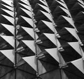 Esplanade Singapore. Roof of Esplanade, a landmark building in Singapore form a pattern can use in design Royalty Free Stock Images