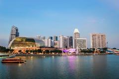 esplanade singapore Стоковое Изображение RF