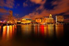 Esplanade- & stadssikten Royaltyfri Bild