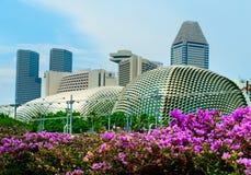Esplanade Theater  in Singapore Stock Images