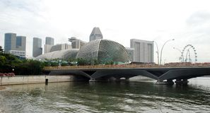 The Esplanade Theatre Singapore Stock Photography