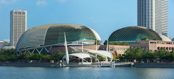 Esplanade Theatre in Singapore Royalty Free Stock Photography