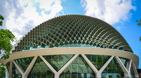 Esplanade Theatre of Singapore. Singapore - Jun 13, 2017. Esplanade Theatre of Singapore. The Esplanade is a waterfront location just north of the mouth of the Royalty Free Stock Photos