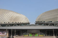 Esplanade Theatres on the Bay Concert Hall in Singapore Stock Image