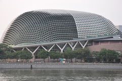 Esplanade Theatres on the Bay Concert Hall in Singapore Stock Photo