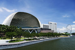 Esplanade theatres on the bay singapore Royalty Free Stock Image