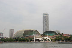 Esplanade or Theatres on the Bay Royalty Free Stock Photo