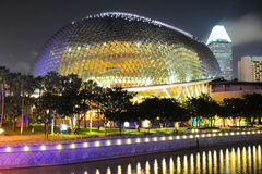 Esplanade Theatres, Singapore Royalty Free Stock Photos