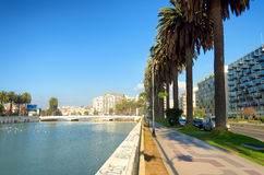 Esplanade in Vina del Mar, Chile Lizenzfreies Stockfoto