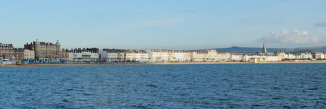 The Esplanade in Weymouth Royalty Free Stock Photography