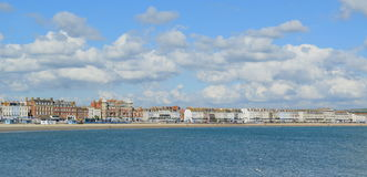 The Esplanade in Weymouth Stock Image
