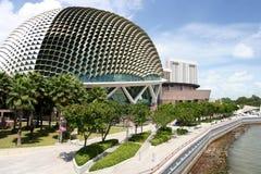 esplanademuseum singapore Arkivbilder