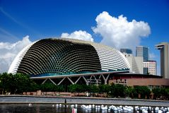 esplanadesingapore theatres Royaltyfri Foto