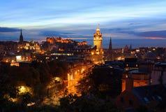 Esplendor de Edimburgo Imágenes de archivo libres de regalías