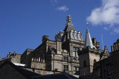 Esplendor medieval do castelo de Stirling fotos de stock