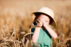 Esploratore della natura Fotografie Stock