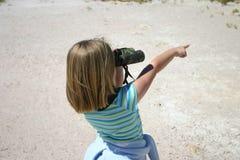 Esploratore della ragazza Fotografie Stock Libere da Diritti