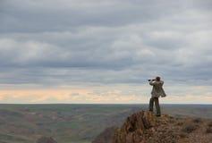 Esploratore di affari fotografie stock