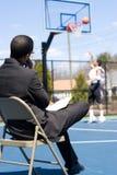 esploratore di pallacanestro Immagine Stock