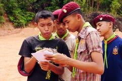 Esploratori tailandesi Immagini Stock Libere da Diritti